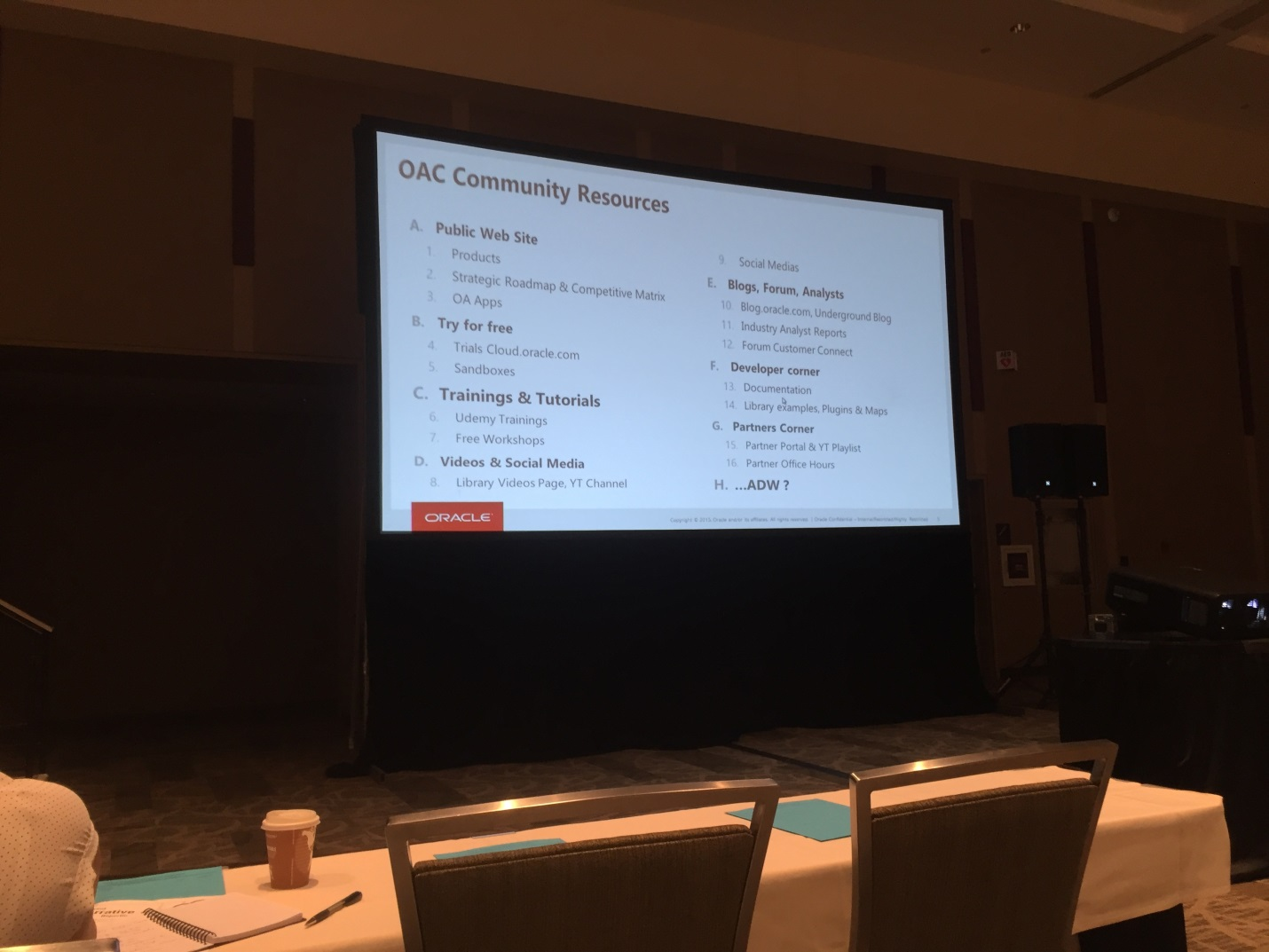 KScope 19 live blog, Day 1, Part 2 – The Truth About CPM